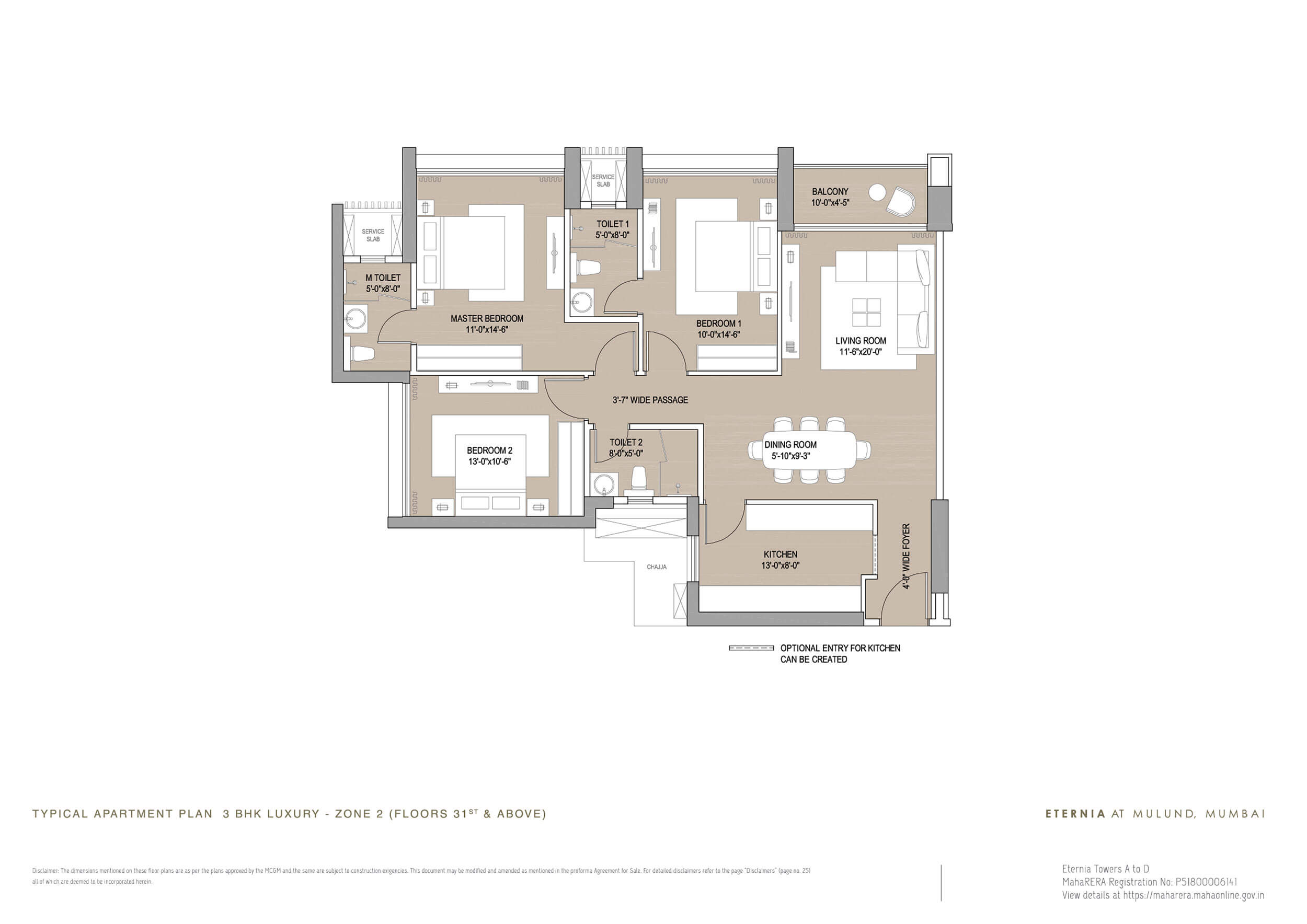 3 BHK and 4 BHK Flats in Mulund West | Eternia and Enigma By