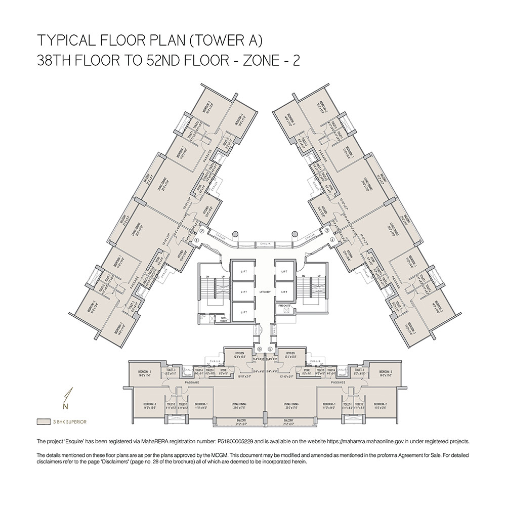 3 4 Bhk Luxury Apartments Property In Goregaon E Mumbai Click Image For Larger Version Namesd Wiring Diagramjpg Views2514 Tower A 38th Floor To 52nd Zone 2